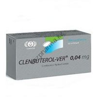 Clenbuterol-ver (Кленбутерол) Vermodje 100 таблеток (1таб 40 мкг)