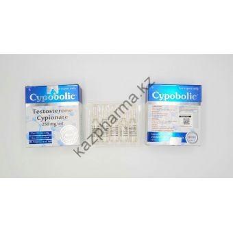 Тестостерон ципионат Cooper 10 ампул по 1мл (1амп 250 мг) - Есик
